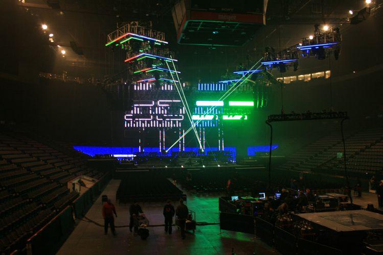 U S Bank Arena Celine Dion Courage World Tour
