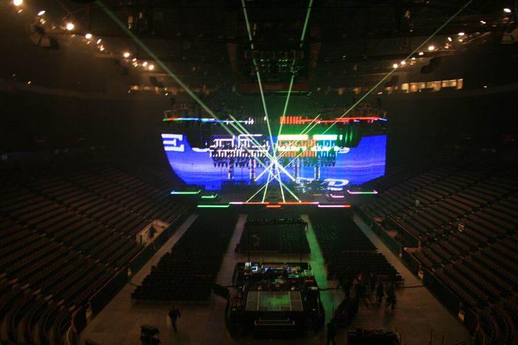 US Bank Arena Imagine Dragons - Map us bank arena