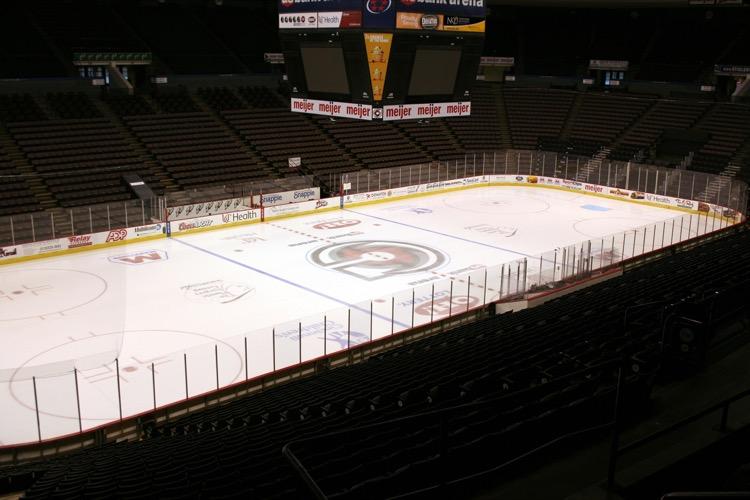 Honda Center Inside